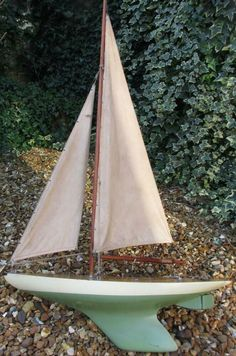 60 cm Alexander Bassett Lowke c1940 nice paint original sails pond yacht boat Bassett Lowke, Yacht Boat, F1 Racing, Outdoor Gear, Pond, Boats, Sailing, Original Paintings, Ebay