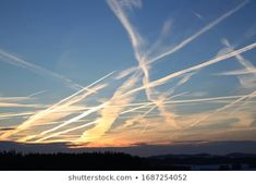 Find Chemtrails Over Blue Sky stock images in HD and millions of other royalty-free stock photos, illustrations and vectors in the Shutterstock collection. Thousands of new, high-quality pictures added every day. Air Image, Art Inspo, Vectors, Northern Lights, Photo Editing, Royalty Free Stock Photos, Photoshop, Sky, Album
