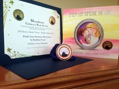 Grief Book for Kids, Emily Lost Someone She Loved, wins a Moonbeam Children's…
