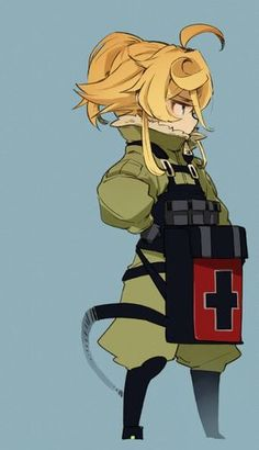 The Saga of Tanya the Evil (Youjo Senki) Tanya Degurechaff