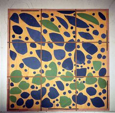 MoMA | Henri Matisse: In the Studio - Four states of Ivy in Flower. 1953