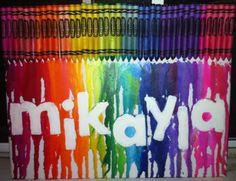 Mikayla crayola art