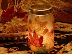 fall candle