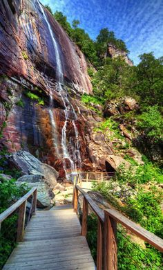See amazing views at Chimney Rock Park in North Carolina.