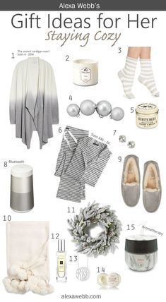 Gift Ideas for Her – Staying Cozy – Alexa Webb's Size Inclusive Gift Guide – ale… – Christmas Ideas Christmas Gift Guide, Christmas Gifts For Her, Birthday Gifts For Her, Holiday Gifts, Christmas Gift Ideas For Teenage Girl, Amazon Christmas Gifts, Christmas Girls, Womens Christmas, Teen Birthday