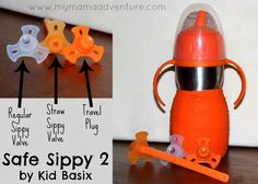 My Mama Adventure: Safe Sippy 2 by Kid Basix Review (+ Coupon Code)