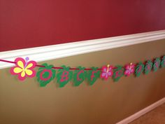 Luau Banner, Luau Birthday Theme, Hawaiian Wedding, Hawaiian Engagement, Luau Celebration, Luau Anniversary Banner, Hawaiian Theme Party