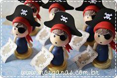 Piratinhas para Lembrancinhas