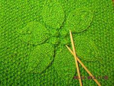 Fantástico saco con capucha tejido con dos agujas - paso a paso   Patrones para Crochet