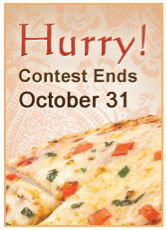 Enter Tandoor Chef's None Other Naan Pizza Recipe Contest! All you need is Tandoor Chef's Tandoori Naan or Garlic Naan and add your favorite winning toppings and send us the recipe. Entries will be judged on creativity, taste and appearance.