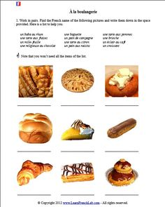 French 2 Cooking Unit on Pinterest   Vocabulary, French and Fle