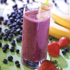 Banana Berry Smothie