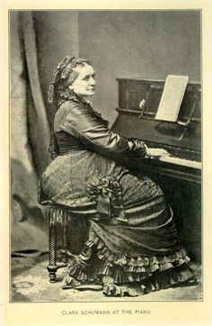 CLARA SCHUMANN (1819 - 1896) Female composers were a rarity in the 1th century, and Schumann's music -- composed as she raised eight c hildren -- comes down to us today.