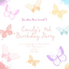 13 Best Girls Party Invitations
