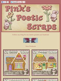 Ad:New Gingerbread Santa Hut Scripts,40% Off Sale,& More by Pink's Poetic Scraps! http://mad.ly/4c9473