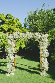 Baby's Breath Wedding Arch