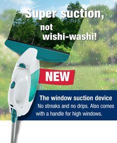 Super suction, not wishy-washy!