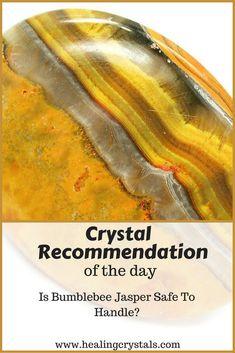 Is Bumblebee Jasper Safe To Handle? #crystals #healingcrystals #toxiccrystals