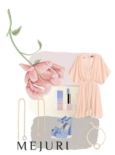 """""""Rosé"""" by simone-ernst ❤ liked on Polyvore featuring Sephora Collection, contestentry and jenchaexmejuri"""
