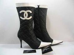 Chanel boot.
