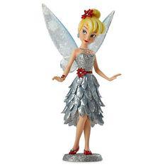 disney winter fairy figures   ... disney store 18 6 disney tinker bell star charm by pandora disney