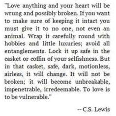 C.S. Lewis.... Love