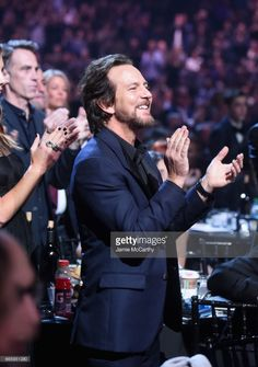 Inductee Eddie Vedder of Pearl Jam attends the 32nd Annual Rock & Roll Hall Of Fame Induction Ceremony at Barclays Center on April 7, 2017 in New York City. The event will broadcast on HBO Saturday, April 29, 2017 at 8:00 pm ET/PT