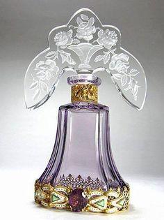 Czech Perfume Bottle 1920's