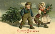 fete noel vintage gifs images - Page 6 Merry Christmas Santa, Old Christmas, Victorian Christmas, Christmas Trees, Xmas, Illustration Noel, Christmas Illustration, Vintage Christmas Images, Christmas Pictures