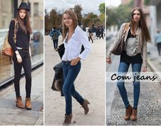 looks com botas cano curto 2014 - Pesquisa Google Boots Store, Pets, Womens Fashion, How To Wear, Jackets, Clothes, Girl Stuff, Image, Low Boots