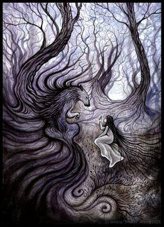 Les Cils du Loup by Sieskja.deviantart.com on @DeviantArt