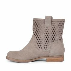 Sole Society - Suede boots - Kaye - Grey