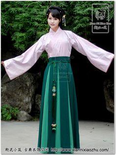 I like the dk/light green skirt.