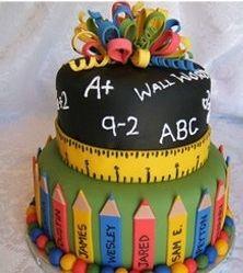 Preschool/Kindergarten Graduation Cake