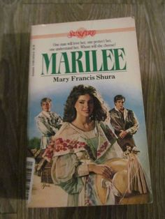 Marilee by Mary Francis Shura (1985, Paperback) Sunfire Romance