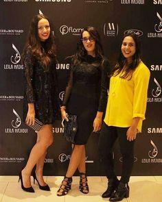 Lancement de la #lhcollection de #LailaHadioui au Sofitel! Les #theverynormalgirls avec Saly de Femmes Modernes! That was 2 days ago so it's a #Throwback ok? - http://ift.tt/1HQJd81