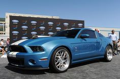 One-off 2013 Shelby GT500 Cobra - Carroll tribute
