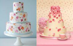 Seasonal Wedding Cakes, Summer wedding cakes