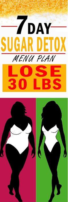 #7 #days #sugar #detox #plan #weight #lose #healthy #life #fill #better #hidden #sugars