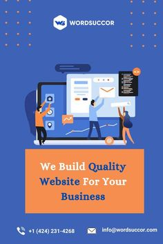 WordSuccor Ltd. is the best WordPress development company. We provide quality websites to our users so they can easily grow their business in this competitive market. To Get benefit from our services, visit us.