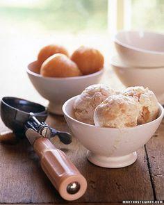 White Peach Sherbert Recipe