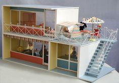 diePuppenstubensammlerin: Puppenhaus - 1964 Bodo Hennig - dolls house