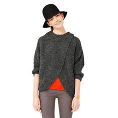 DIY Poncho Sweater - Kate Spade Saturday