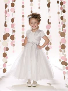 ecce09f56941 8 Best Joan Calabrese Dresses images | Flower girls, Holy communion ...