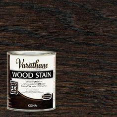 Varathane 1 qt. 3X Kona Premium Wood Stain (Case of 2)