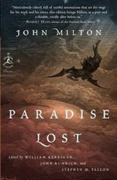 Paradise Lost (Modern Library Classics) by John Milton. I keep meaning to read this one since a lot of the books I've read in the past allude to it Paradise Lost Book, John Milton Paradise Lost, Books To Read, My Books, Reading Books, Reading Habits, Music Books, Classic Poems, Modern Library