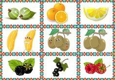 Радикал-Фото: Картинка Rubrics, Printable Tags, Health, Fruits And Veggies, Paintings