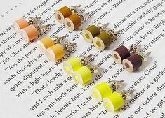 color pencil ear studs DIY inspiration