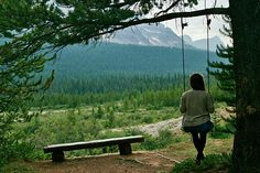 I wanna live in the woods and marry a mountain man.