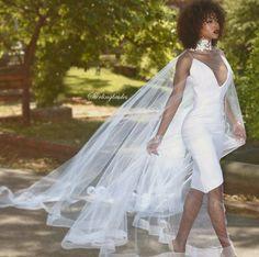 💛 Cute Wedding Ideas, Wedding Styles, Unusual Wedding Dresses, Couture Wedding Gowns, Black Bride, Bridal Style, Getting Married, Flower Girl Dresses, Bridesmaid Dresses